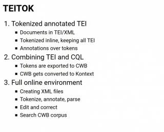 TEITOK workshop UFAL 20.2.2020